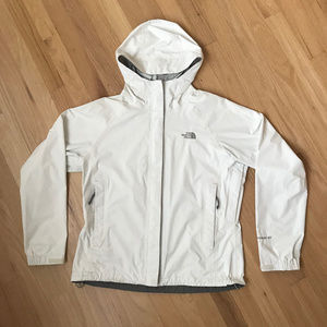The North Face — HyVent Rain Jacket TNF White / M